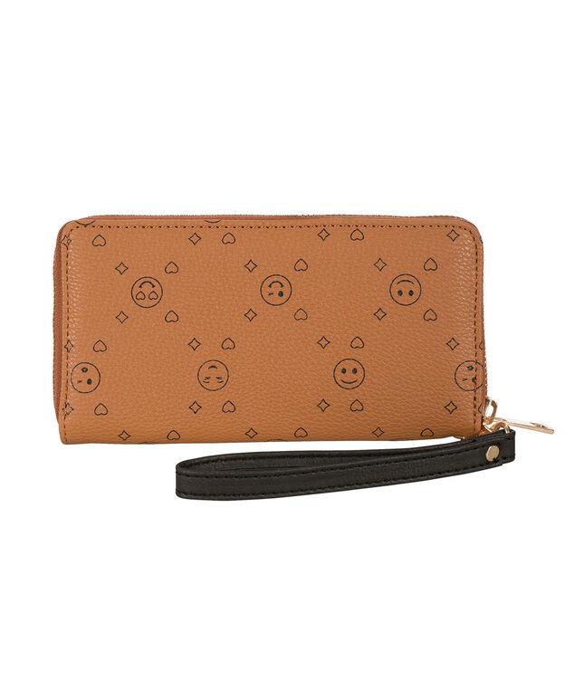 Travel Wallet, Brown, hi-res