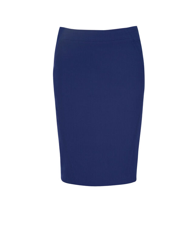 Pull On Pencil Skirt, Sapphire, hi-res