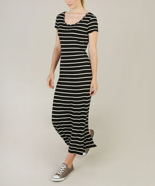 cut-out back maxi - wb, WHITE/BLACK, hi-res