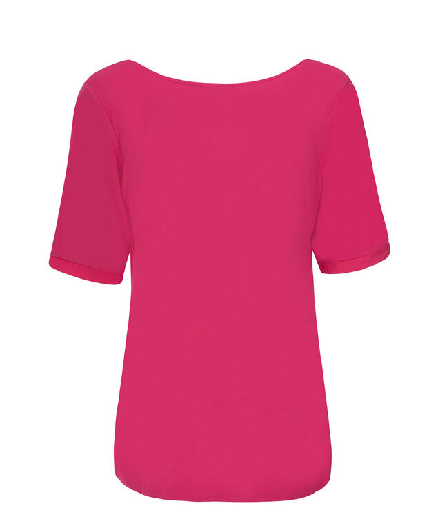 Woven Front Elbow Sleeve, Vibrant Pink, hi-res