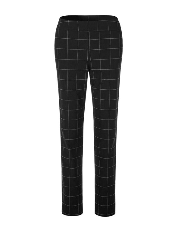 Windowpane Cleo Signature Pant, Black/Grey, hi-res