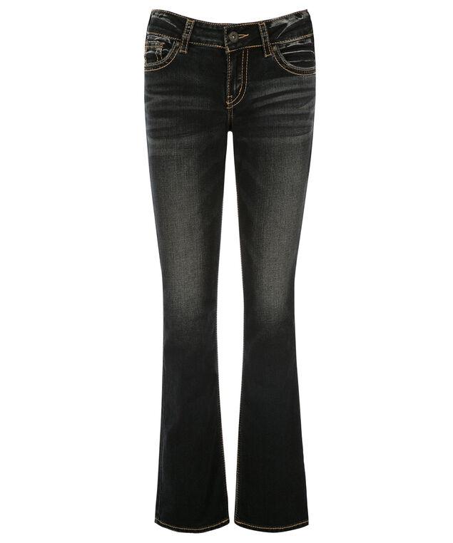 Silver Jeans Co. Elyse Slim Bootcut Jean, Denim, hi-res