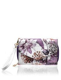 Floral Print Phone Wallet
