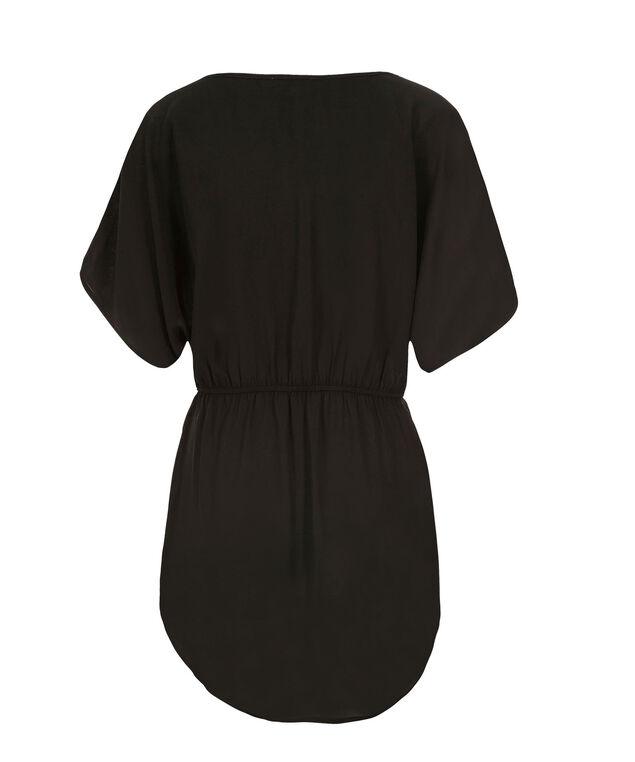 Sequin Detail Tunic, Black, hi-res