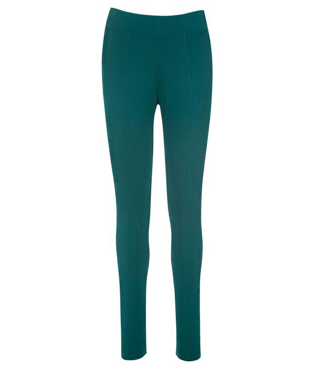 Luxe Ponte Legging, Turquoise, hi-res