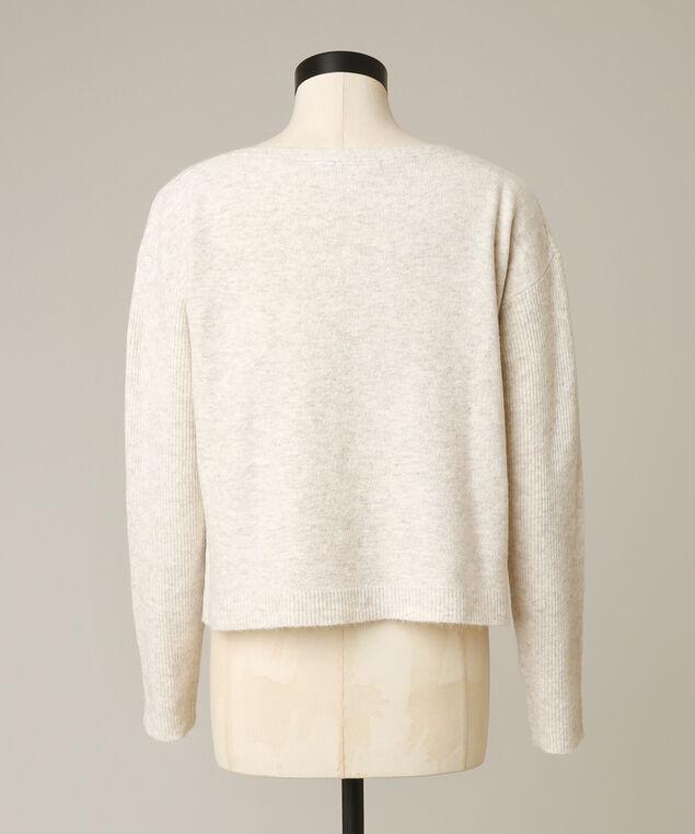 naima boatneck sweater, OATMEAL, hi-res
