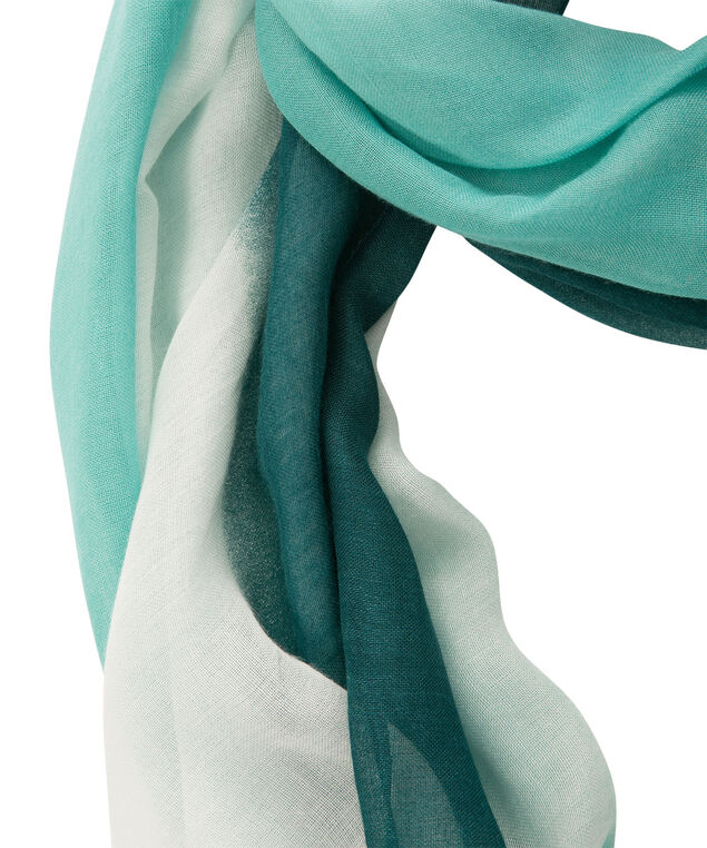 Ombre Eternity Scarf, Lagoon/Turquoise, hi-res