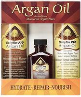 Estuche de 3 Unidades: Shampoo, Acondicionador y Aceite Argán Oil