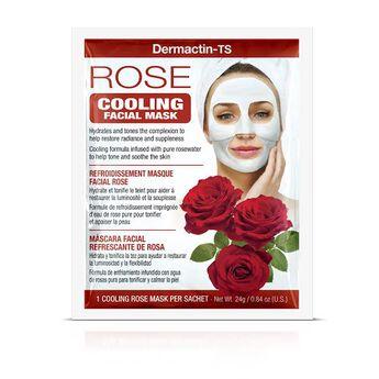Máscara Facial Refrescante de Rosas