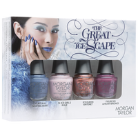 Esmalte para Uñas The Great Ice-Scape Pack de 4 Unidades Cold Toes, Warm Heart