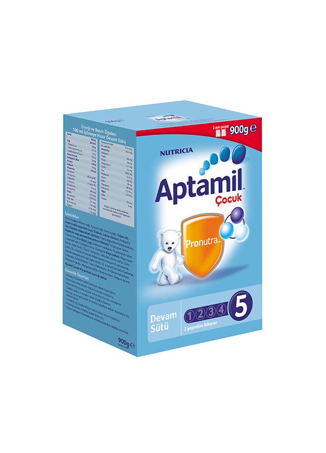 Aptamil Aptamil Çocuk 5 Sütü (Toz)-900 gr.