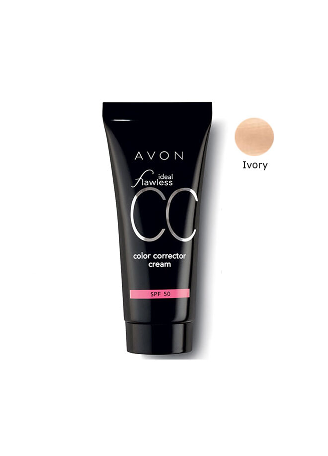 Avon Ideal Flawless Cc Krem Fondöten Spf50 Ivory 30 ml.