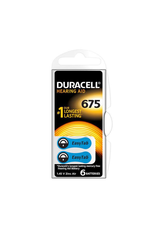 Duracell Duracell İşitme Cihazı Pili 675 (6'lı)