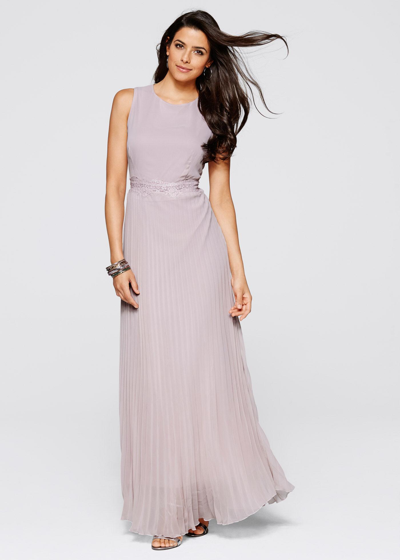 Bonprix Pile Detaylı Elbise