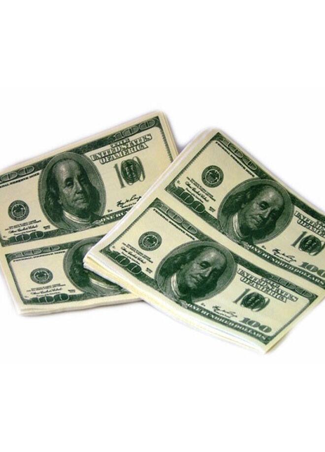 Hepsi dahice Dolar Şeklinde Peçete Dollar Napkin