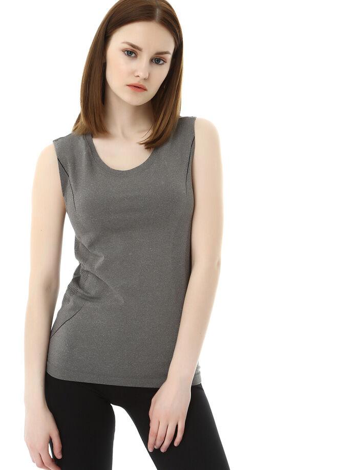 Rai-zen Seamless Kolsuz Jakarlı T-Shirt