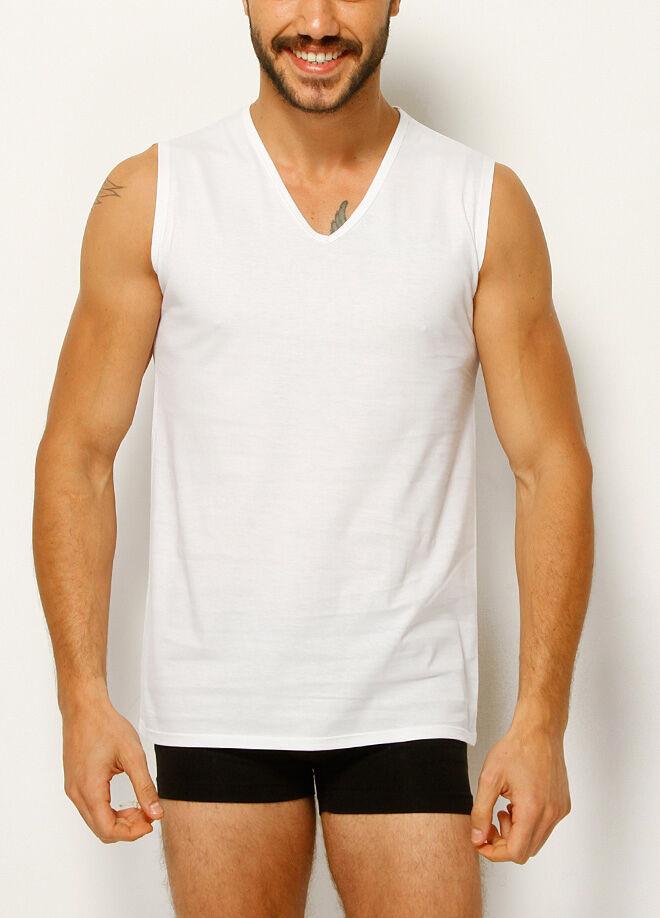 Dagi V Yaka Kolsuz 2'li T-Shirt