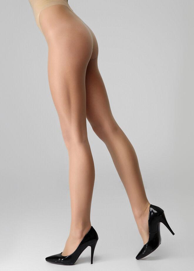 İtaliana Tertemiz 8 Şeffaf Mat Düz Külotlu Çorap