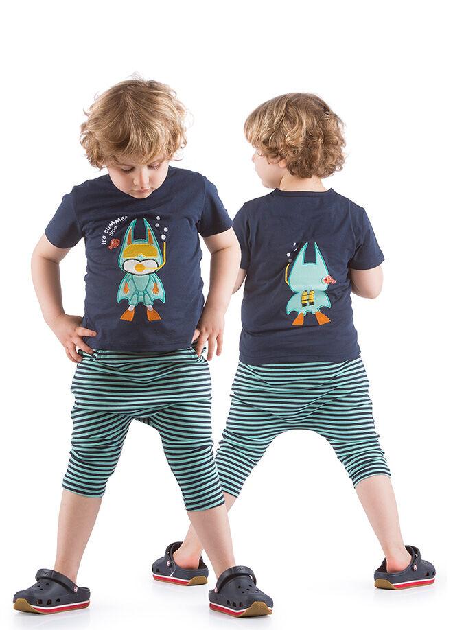 Kid's Choice Kaprişort Tshirt 2'li Takım 24.04 26