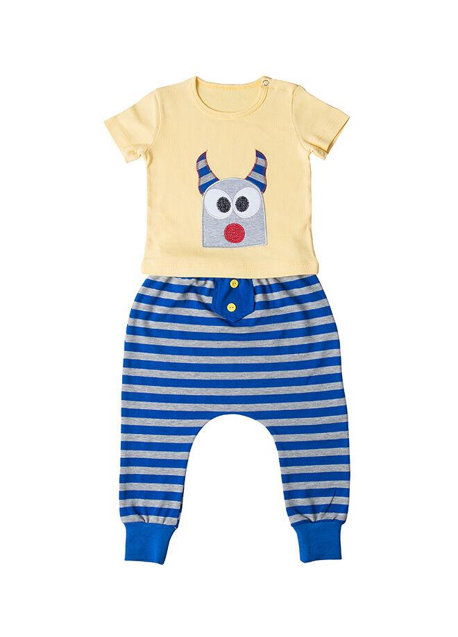 La Petite Pantolon Tshirt 2'li Takım 24.04 61