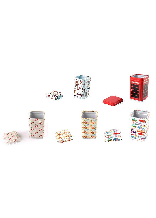 Hobby Toys 5'li Dekoratif Metal Kutu Paketi