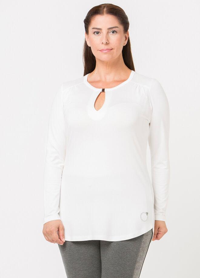 Miramor Göğüsü Pencere Detaylı T-Shirt