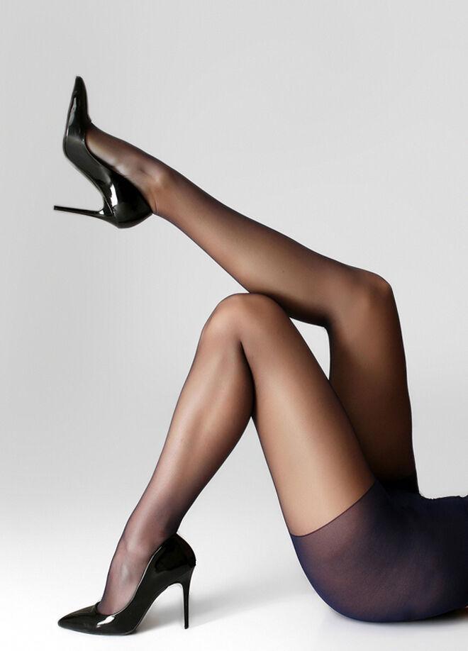 İtaliana Fit 15 İnce Parlak Burunsuz Düz Külotlu Çorap 2'li Paket