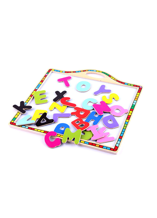 Toys Go Green Wooden Magnetic Board