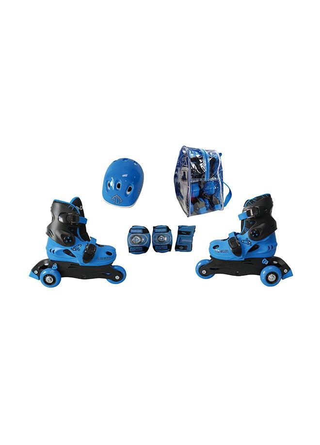 Delta Ayarlanabilir Çocuk Paten Seti - Paten&Kask&Koruyucu Set - KRS 550