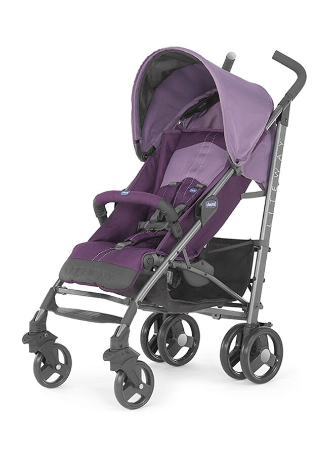 Chicco Lite Way Stroller 2 Top BB Bebek Arabası Purple