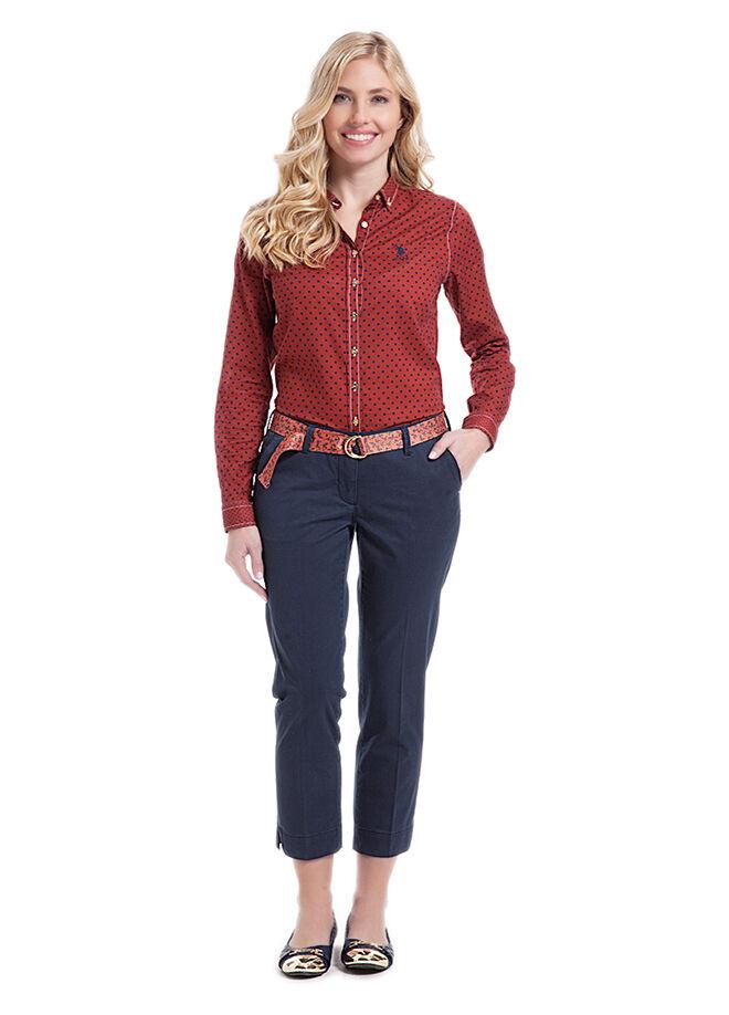 U.S. Polo Assn. Kadın Slim Fit Pantolon