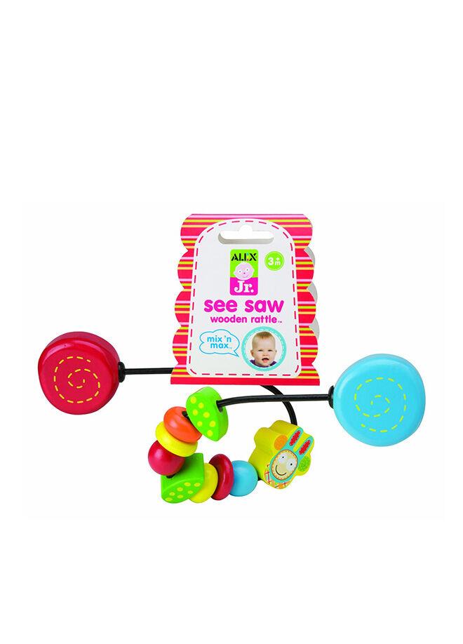 Alex Toys Alex Ahşap Çıngırak & Renkli Boncuklar