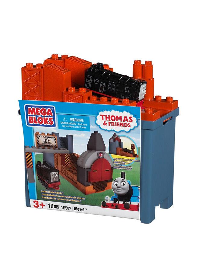 Mega Bloks Mega Bloks Thomas Diesel Küçük Kova 17 Parça
