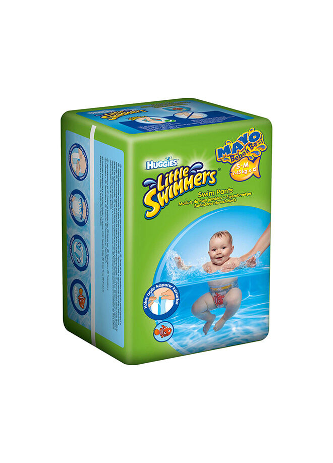 Huggies Little Swimmers 7-15kg 12'li