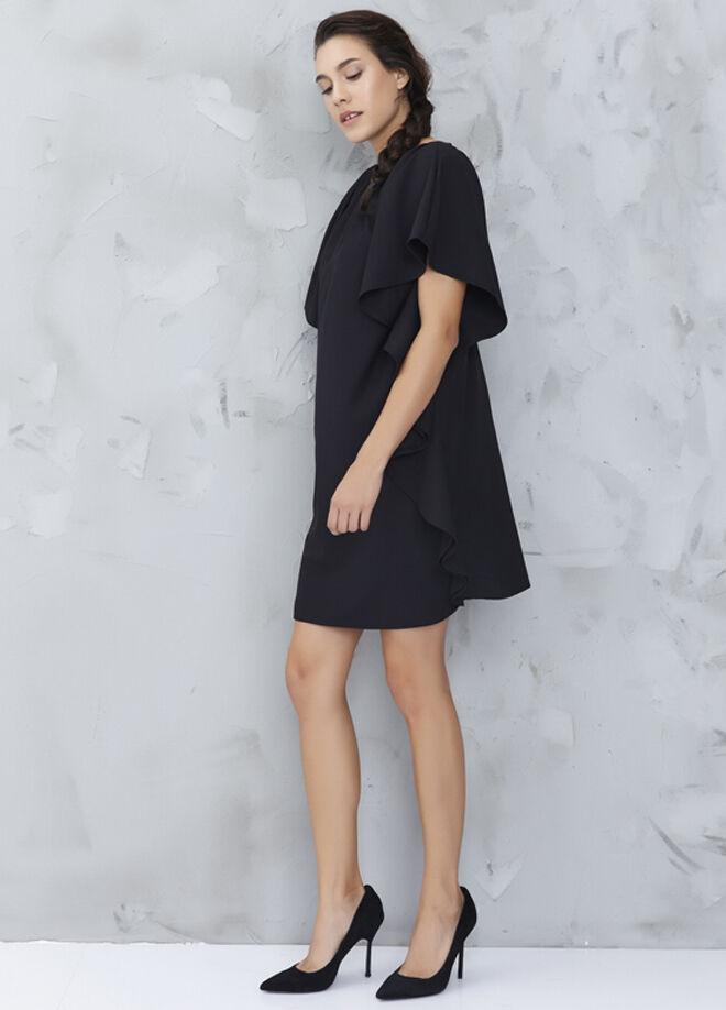 MY2EGO Kalın Krep Elbise
