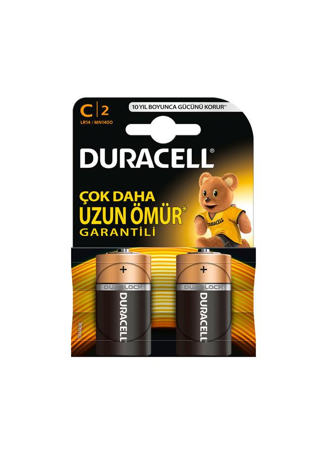 Duracell Duracell C Boy Pil 2'li