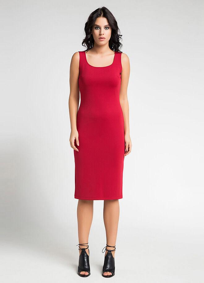 Laranor Kareyaka Astarlı Kalem Elbise