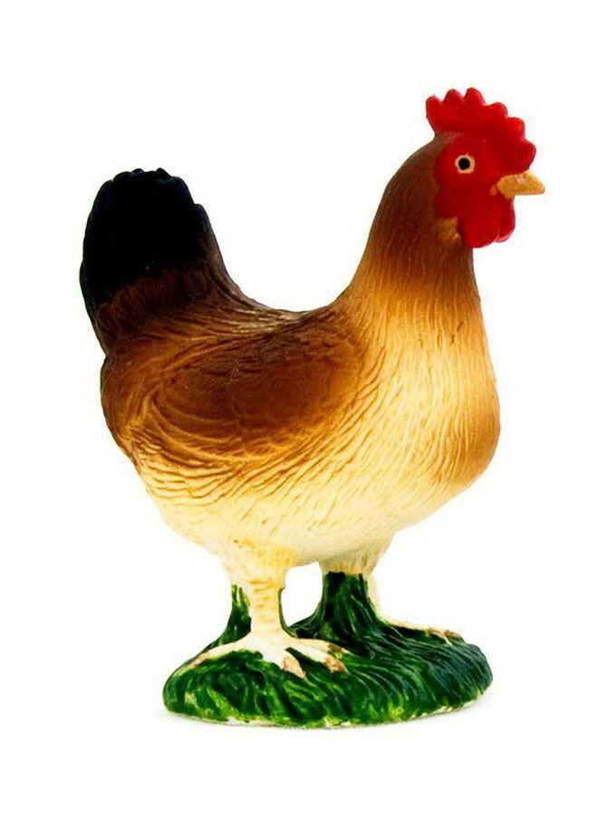 Animal Planet Tavuk Ayakta-Model Figür