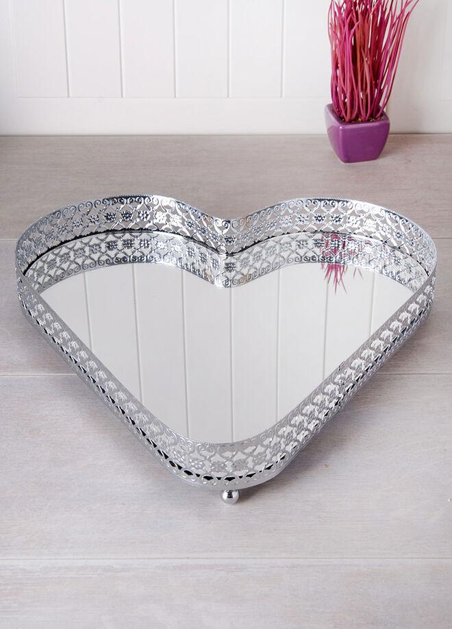 Queen's kitchen Kalp Şeklinde Lüx Tepsi