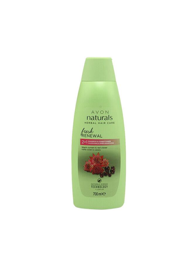 Avon Naturals Frenk Üzümü Şampuan + Kremi 700 ml.