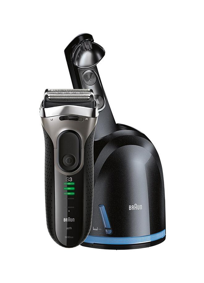 Braun Braun 3 Serisi Tıraş Makinesi 3090CC Temizleme ve Sarj Ünitesi ile