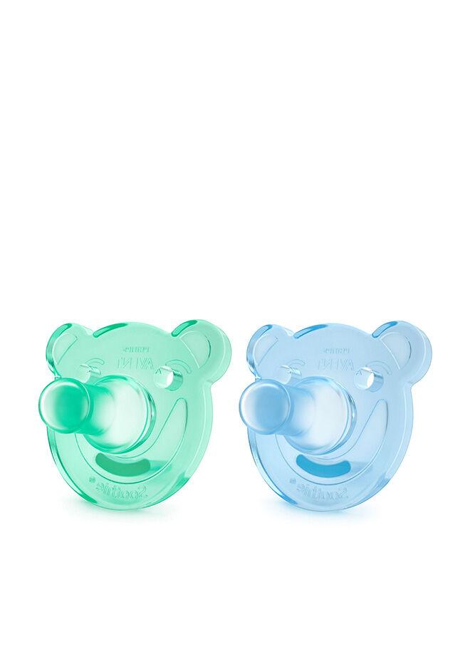 Philips Avent 0% BPA Soothie Yalancı Emzik 0-3 Ay Erkek 2'li