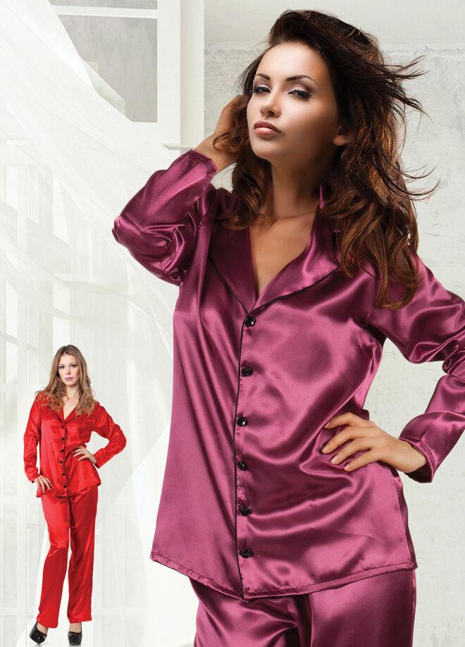 Miorre Saten Pijama Takım
