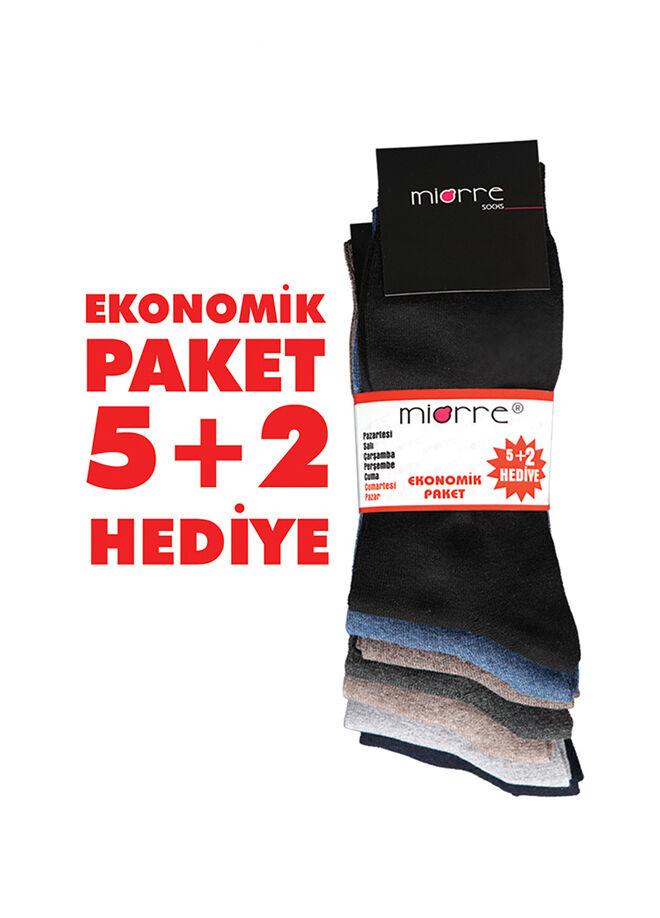 Miorre 7'li Klasik Çorap