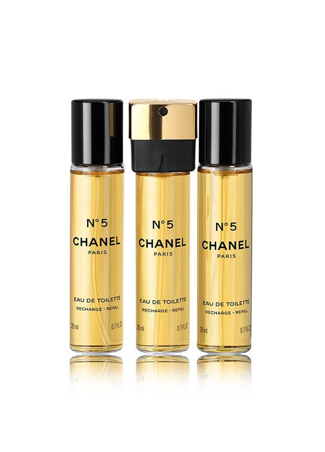 Chanel N 5 Refill Purse Spray Edt Set