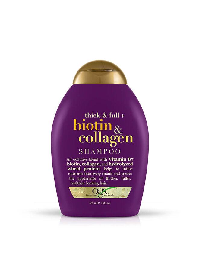 Organix Full Dolgunlaştırıcı Biotin & Collagen Şampuan 385 ml.