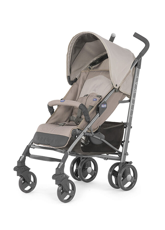 Chicco Lite Way Stroller 2 Top BB Bebek Arabası Sand