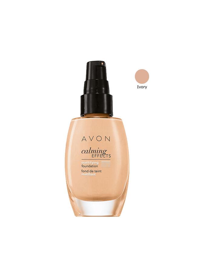 Avon Calming Effects Fondöten Ivory 30 ml.