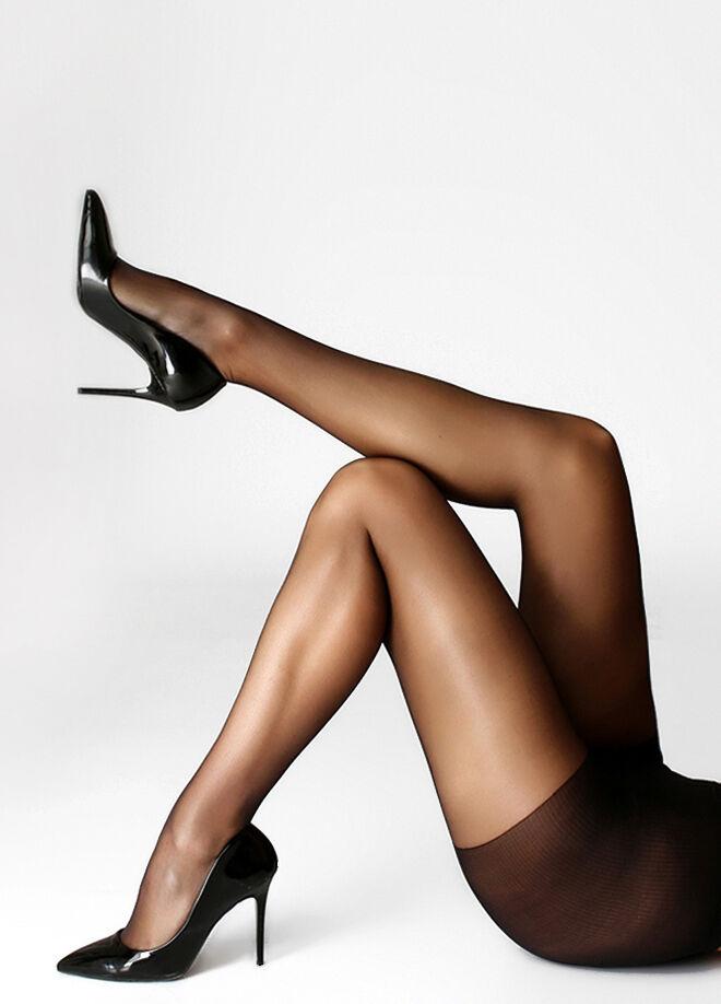 İtaliana Fit 15 İnce Parlak Düz Külotlu Çorap 2'li Paket