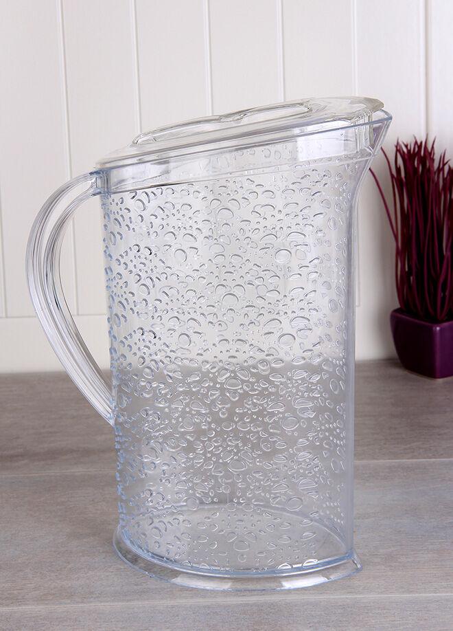 Queen's kitchen Kristal 2lt Buzdolabına Girebilen Lüx Sürahi - Sağ-SP041-Şef